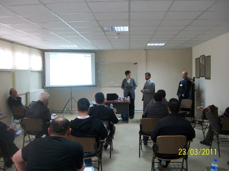 Repair and Rehabilitation Training to Botas Technical Personnel.