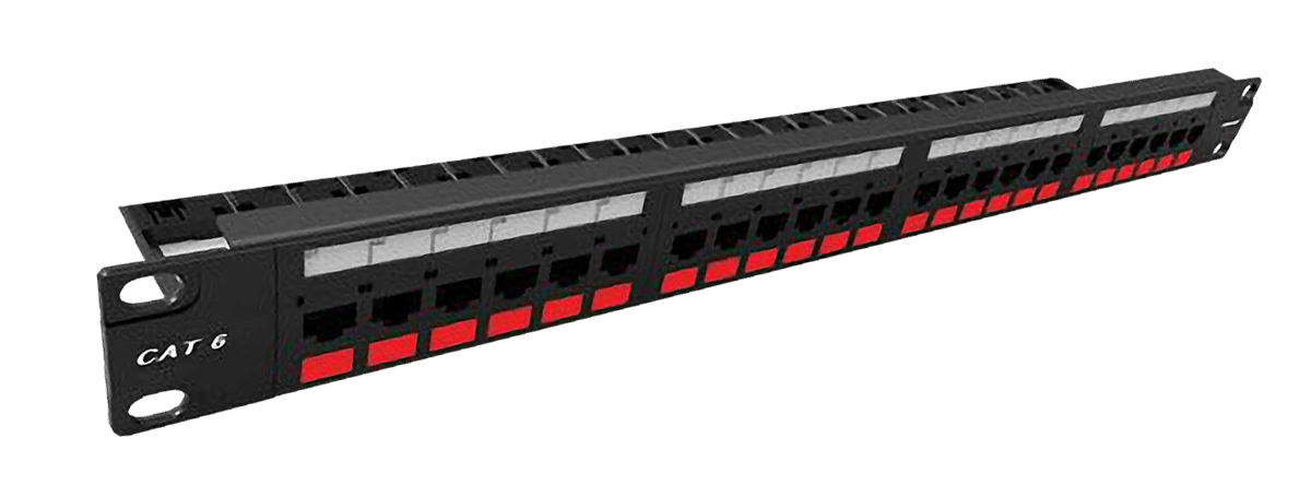24 Port CAT.6 Patch Panel