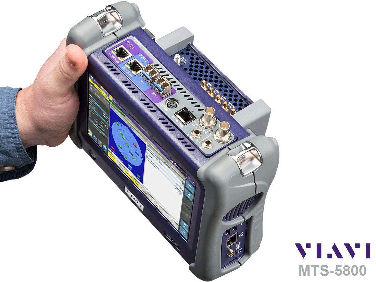 MTS-5800 Hand held network test device - Viavi Turkey