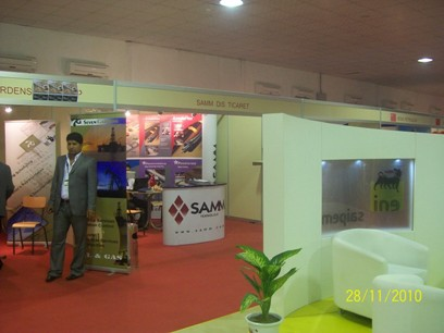 SAMM participated Basrah Oil and Gas Event in Iraq November 2010