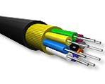8 Fiberli askeri taktik fiber optik kablo, arazi şartları için özel olarak tasarlanmıştır. (Tactical mobile cable)