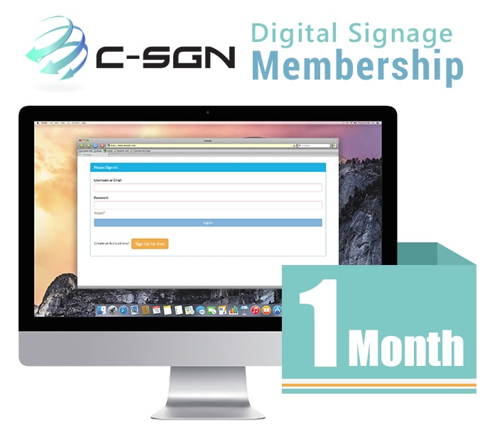 C-SGN Digital Signage Player Kit