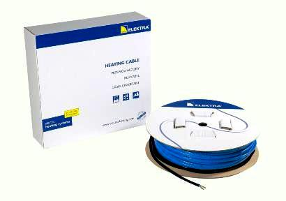 Ramp Snow Melting - Heating Cable  ELEKTRA VCD  25 w/m   400V  -39