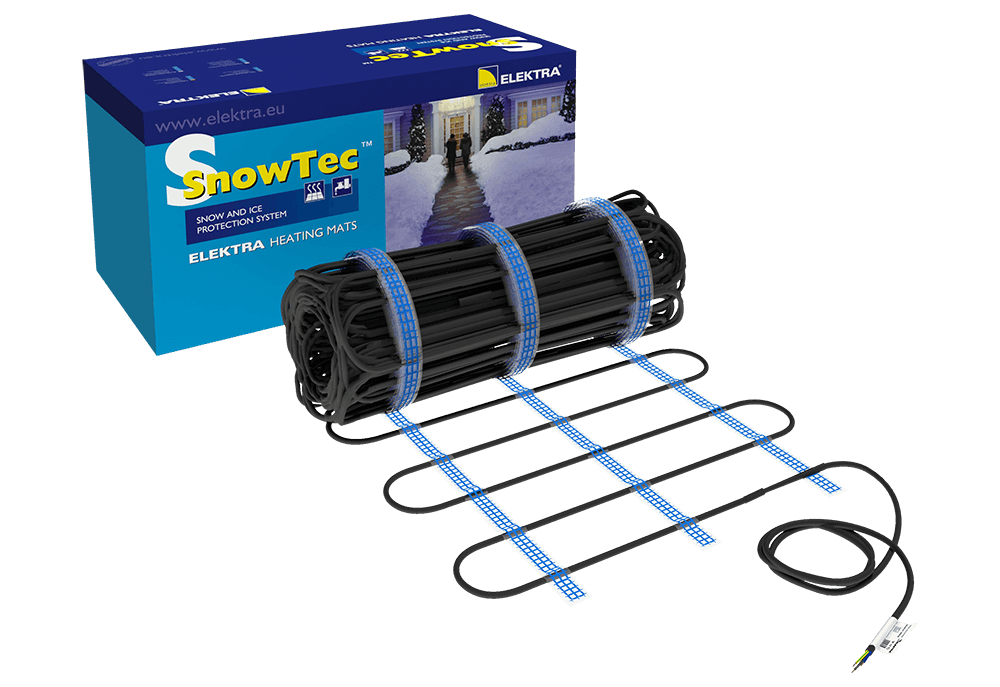 ELEKTRA SnowTec Tuff 400W/m 230VAC Ice/Snow Melting Tough Underfloor Heating Mat
