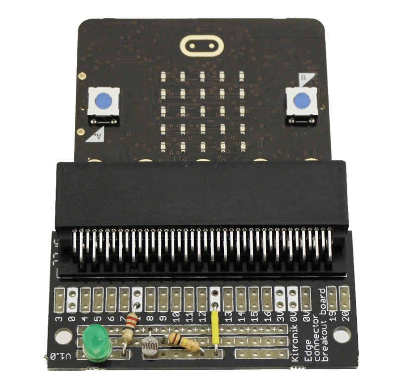 micro:bit Edge Connector Breakout Board