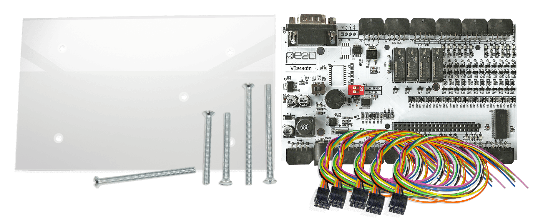 MedIOEx Controller Card Product Components