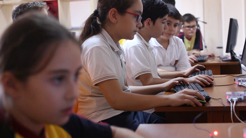 The New Generation of Technology Students Raspberry Pi classes are in Turkey. 2