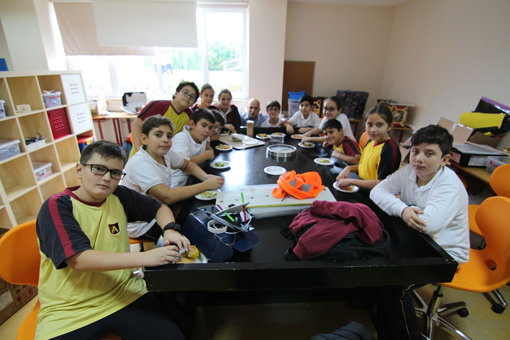 The New Generation of Technology Students Raspberry Pi classes are in Turkey.