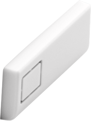 White Modular Case  USB Cover