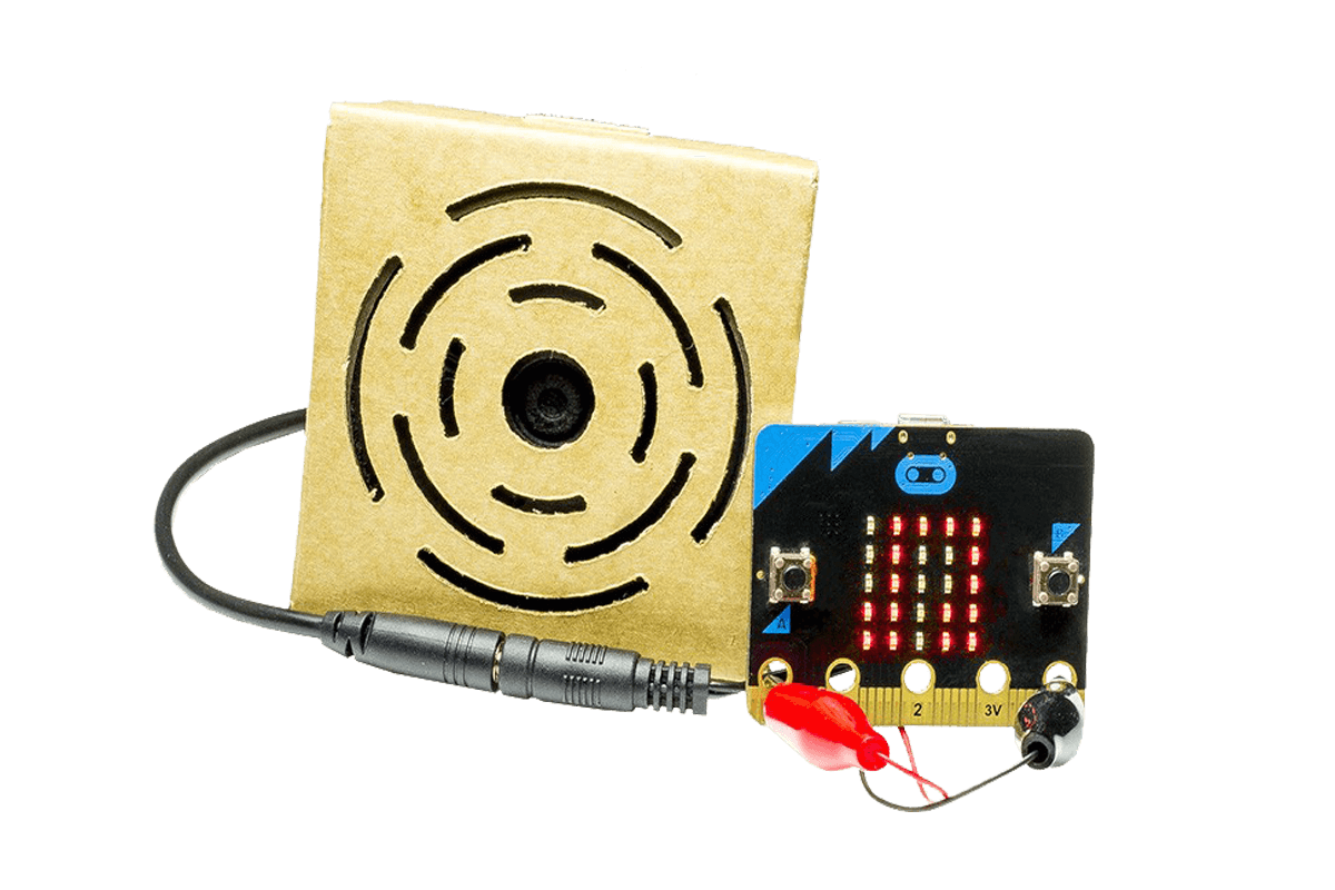 microbit to a speaker