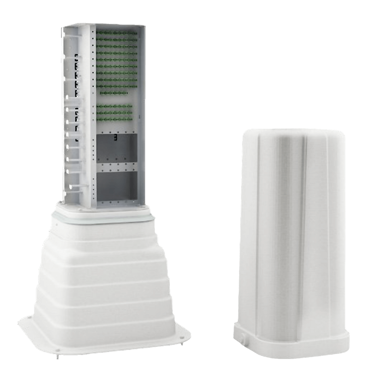حجرة توزيع ألياف بصرية Pedestal 192F  - Furukawa Distribution Network Broadband Systems
