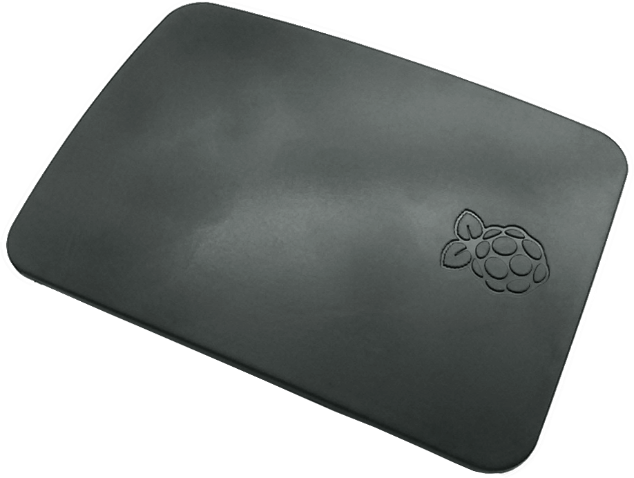 The official Raspberry Pi 3 case in a stunning Black design - Cover