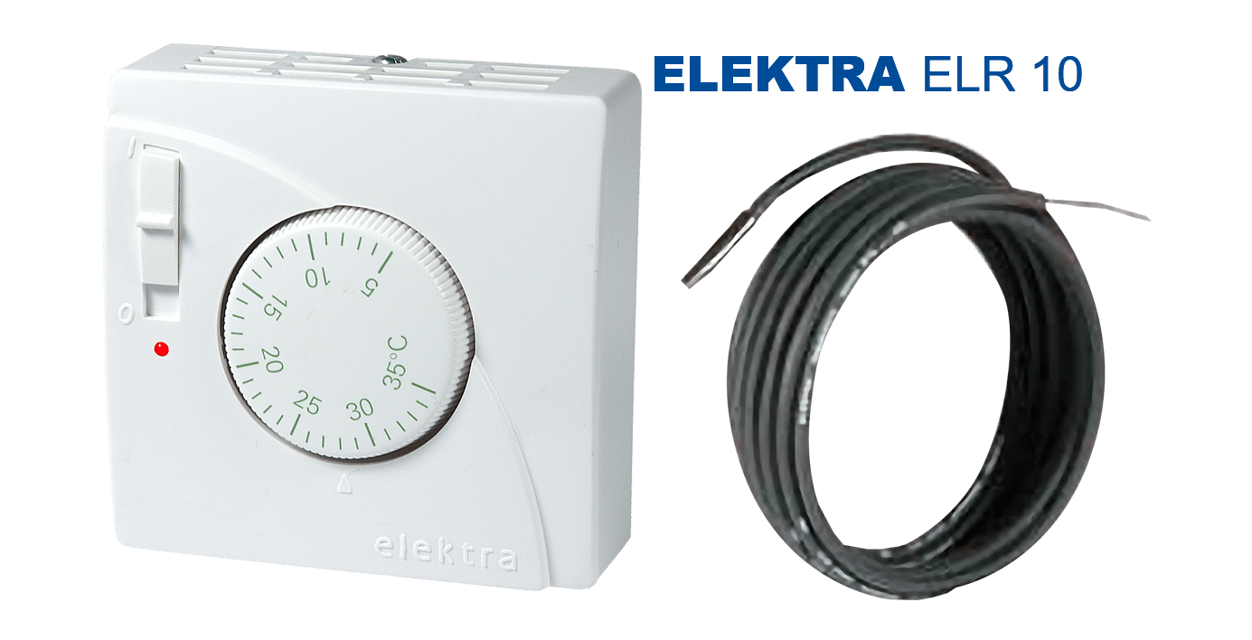 ELEKTRA ELR 10 Thermostat | for electric under-floor heating