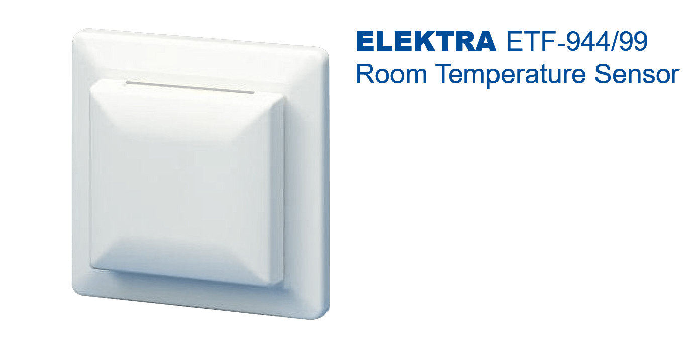 ELEKTRAETF‐144/99 Room Temperature Sensor | for electric under-floor heating