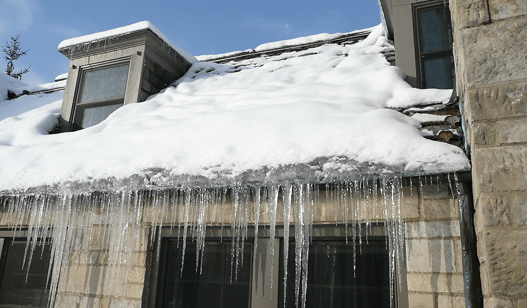 Roof & Gutter Snow and Ice Melting - ELEKTRA TuffTec Heating Cable
