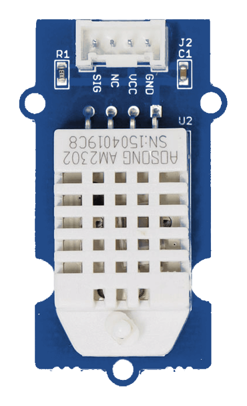 Grove Pi Temperature Humidity Sensor