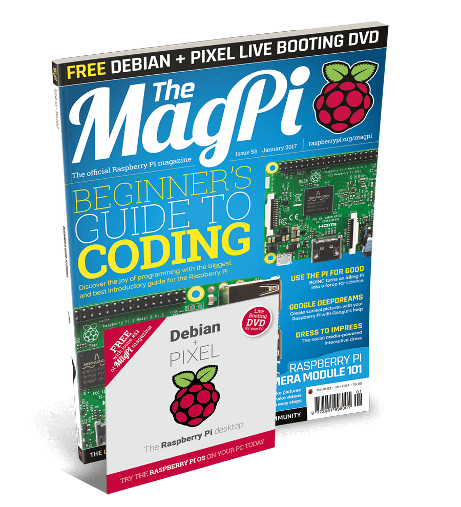 magpi with Pixel for Pc and Mac