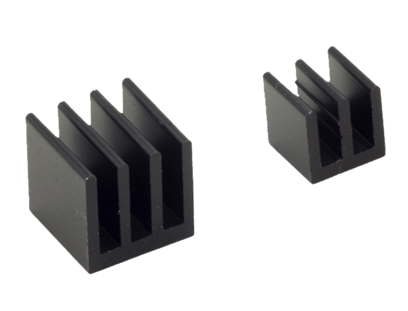 Raspberry Pi Heat Sink Kit . Black