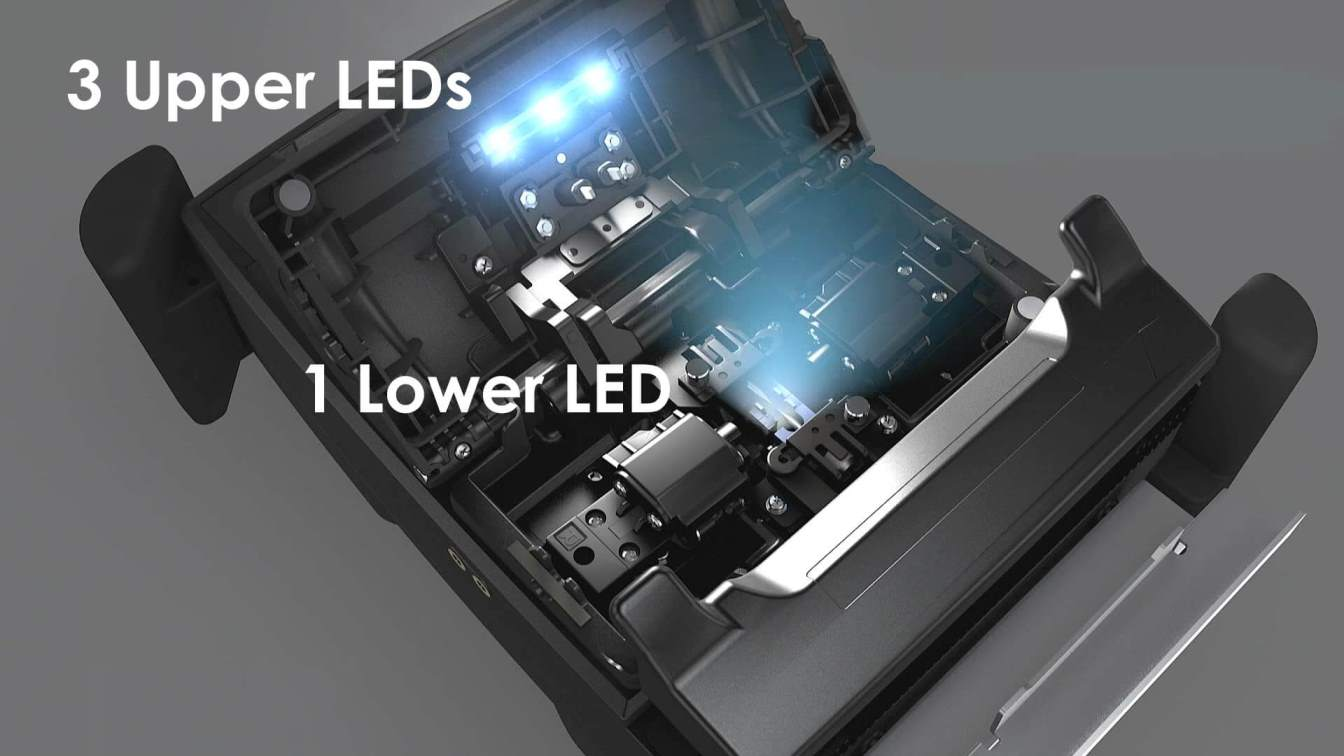 Fusion Splicing S179 - 3 Uppers LEDs and 1 Lower LED