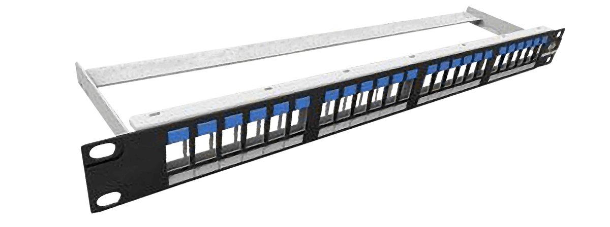 Shielded Modular Patch Panel with Icons  - Furukawa Fisacesso