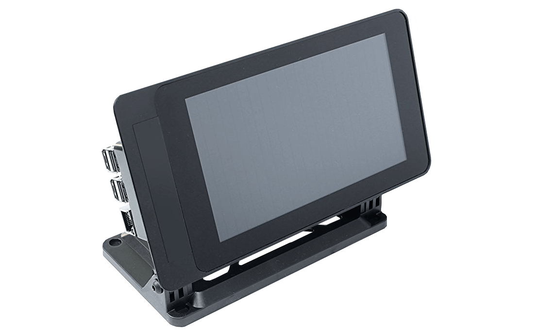 Smartipi Touch Screen Case with Raspberry Pi bendable frame