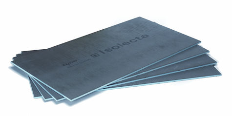 Raychem Isolecta Underfloor heating insulation board