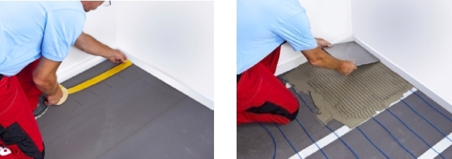 Underfloor heating - CERA-PRO Ultra Thin Under-Ceramic Heating Cable - Product Newsletter