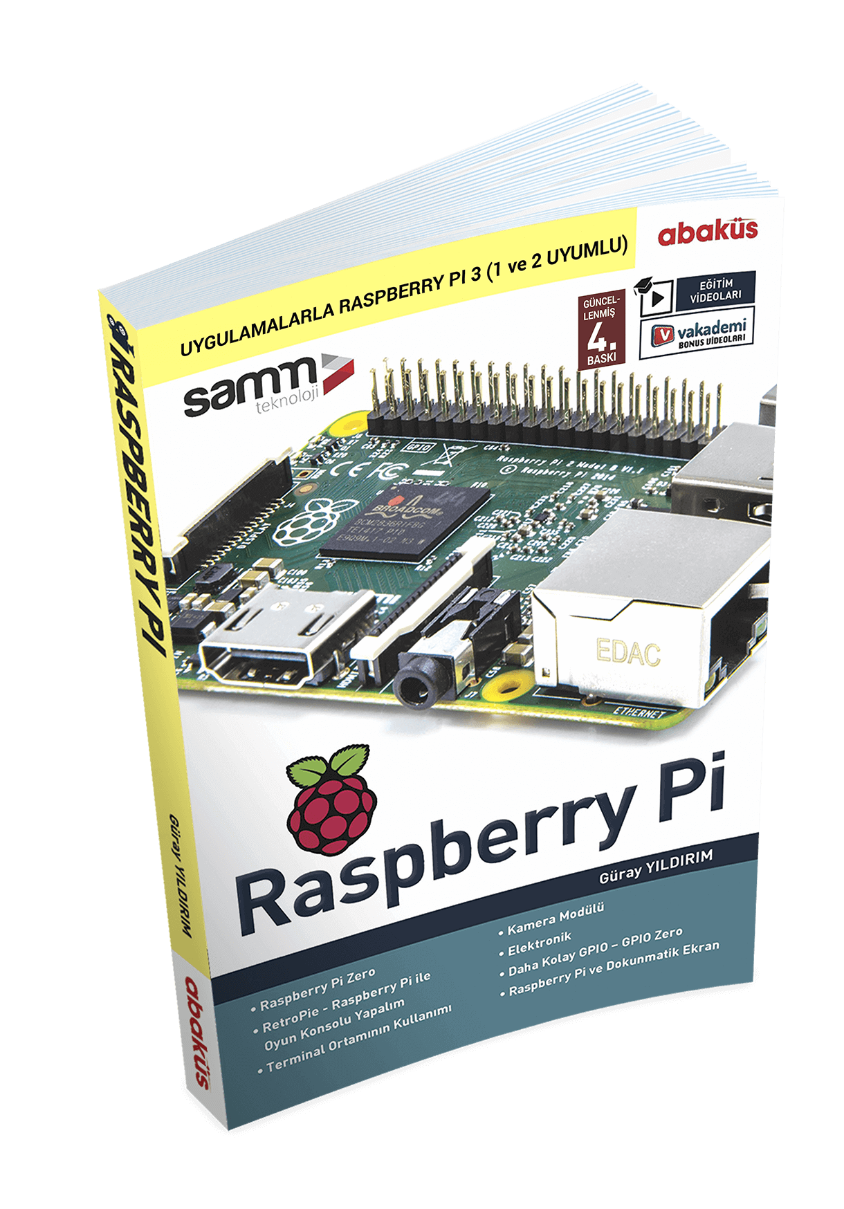 Raspberry Pi 3 Applications Guide Book
