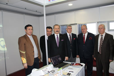 Wall Marker at the Export Development and Competitiveness Exhibition