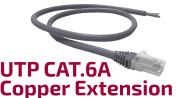 UTP CAT.6A Copper Extension Cable