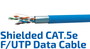 CAT.5e F/UTP Shielded Data Cable