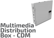 Multimedia Distribution Center (CDM) Box
