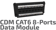 CAT.6 CDM Data Module - 8 Ports