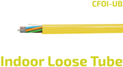 CFOI-UB Loose Tube Indoor Fiber Optic Cable