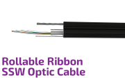 Roll-able Ribbon SSW Optic Cable