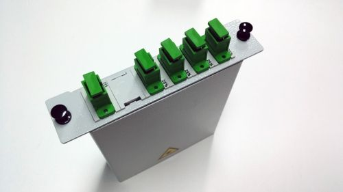 Fiber Optic PLC Cabinet Type Splitter