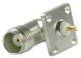 TNC Right Angle Panel Receptacle (jack) 6