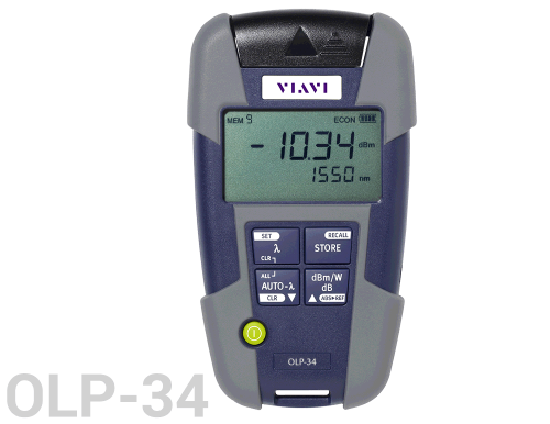 VIAVI OLP-34 SmartPocket Optical Power Meter - Multi-mode +5 dBm