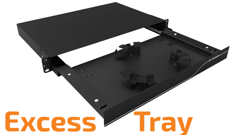 Excess Optical Cords Accommodation Tray