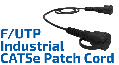 CAT.5e F/UTP Industrial Shielded Patch Cord