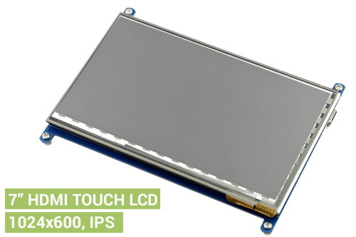 Touch 7 inch HDMI LCD 1024x600