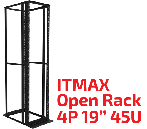 "Fisacesso ITMAX Open Rack 4P 19"" 45U - Furukawa Data Center Solutions"