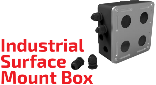 Industrial Surface Mount Box