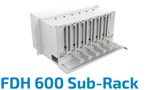 FDH 600 Fiber Optik Sub-Rack