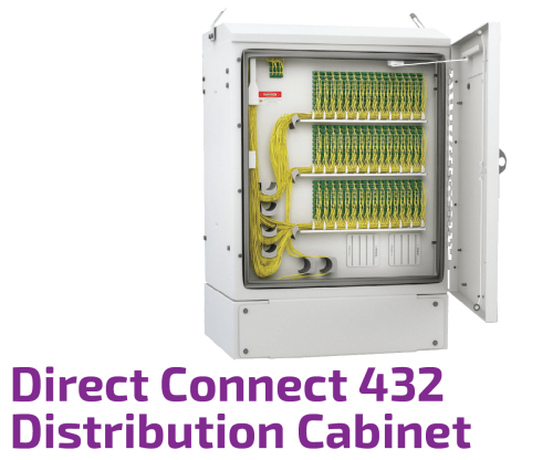 Fiber Distribution Cabinet - Direct Connect 432