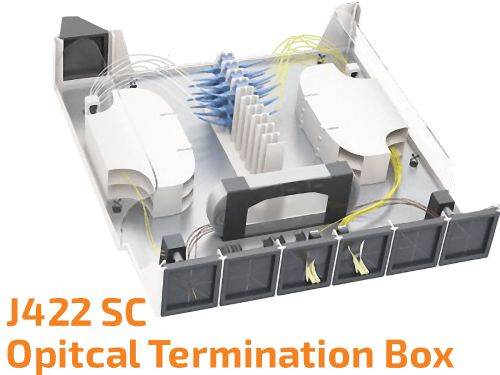 Fiber Optic Termination Box J422
