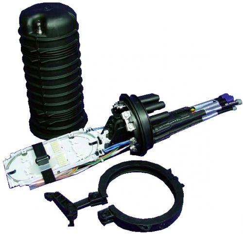 Fiber Optic Splice Box Type Fosc 400 A8 48 Fiber