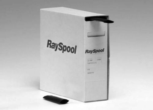 Convenient packaging and dispensing system for heatshrinkable tubing - RaySpool