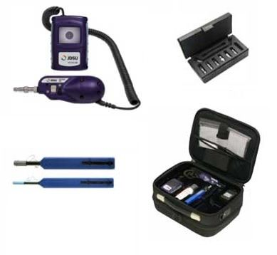 Fiber Inspection Cleaning and Test Kit - FTTx, FBP/HD3 JDSU