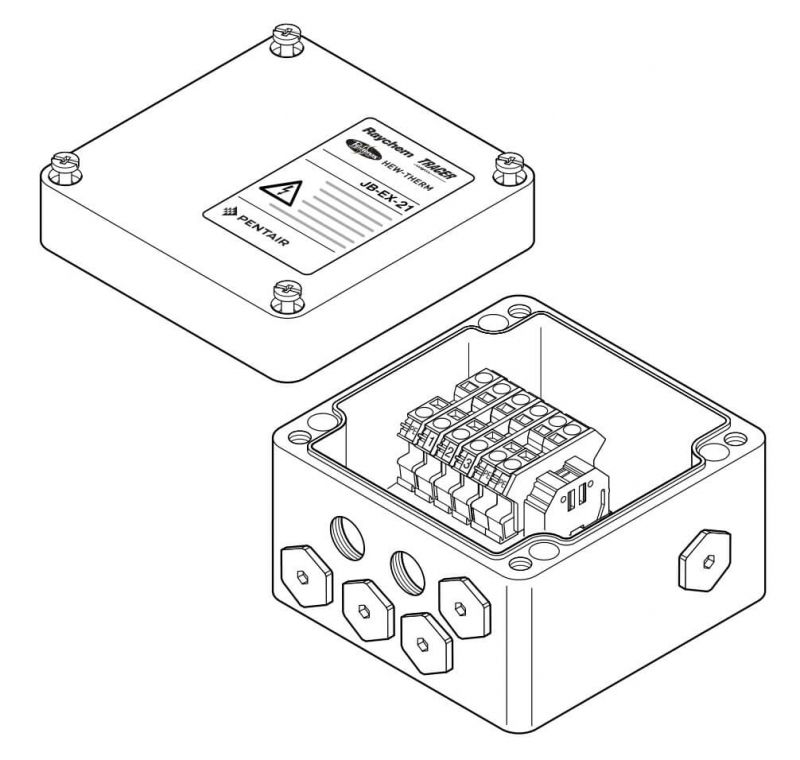 jb-ex-21 industrial electric heating junction box
